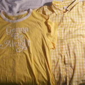 Old Navy shirt set